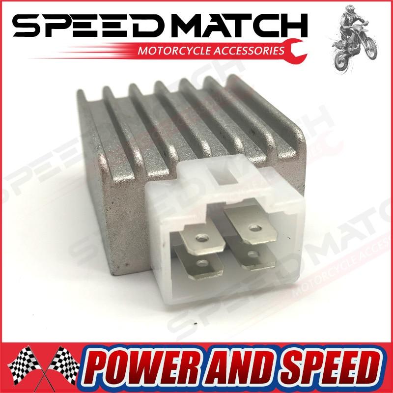 12 В регулятор напряжения Выпрямитель GY6 QMB139 4pin 50cc-150cc Скутер мопед ATV Байк картинг 4 Pin