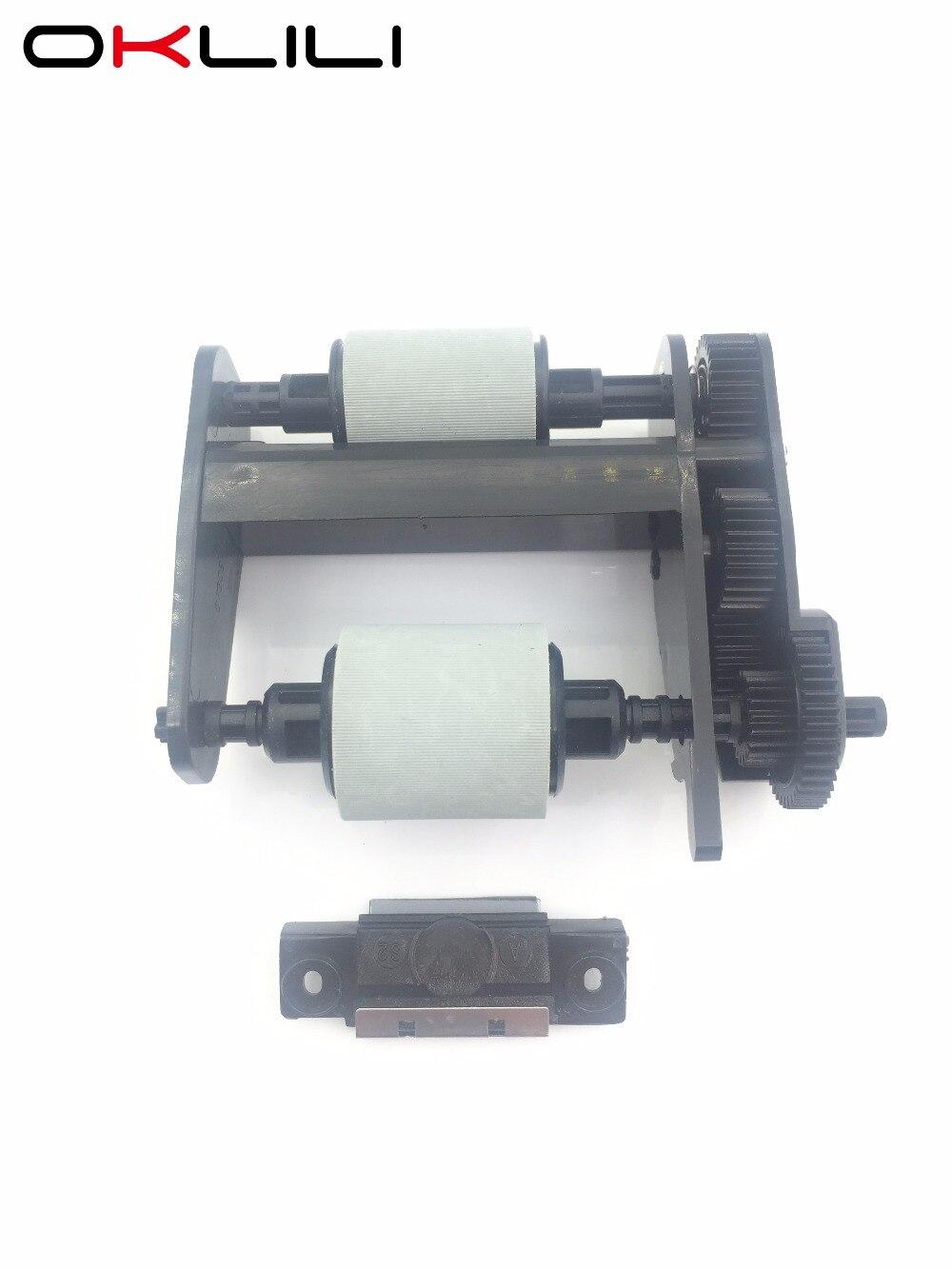 1SET Q3948-67904 5851-3580 ADF Pickup Roller Separation Pad for HP 3030 3300 3310 3320 3330 3380 OfficeJet 6110 6150 L7780 5590