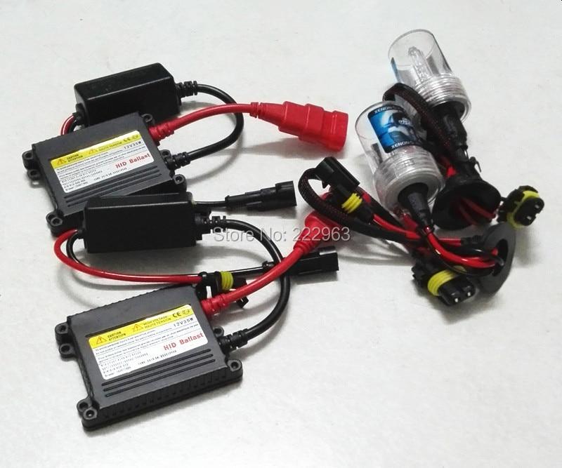 20 set/lote 35W DC Kit HID H1 H3 H4 H7 H8 H9 H10 H11 9005, 9006, 9007, 880, 4300k 6000k 8000k 10000k