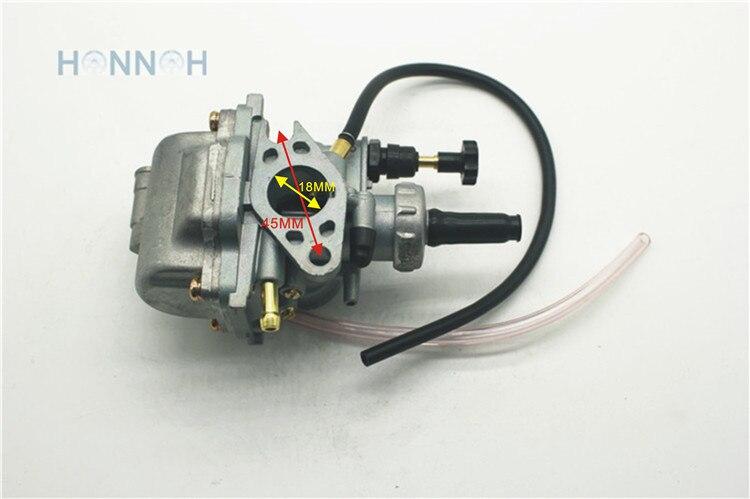 18 мм карбюратор мотоцикла для Suzuki LT80 LT 80 Quadsport ATV Quad Замена двигателя 80cc OEM 13200-40B00 13200-40B10 Авто НОВЫЙ carb