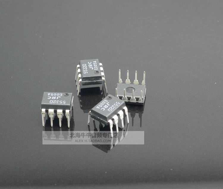2018 hot sale 10PCS/20pcs New JRC original spot NJM5532D JRC5532D fever audio dual op amp DIP8 package free shipping