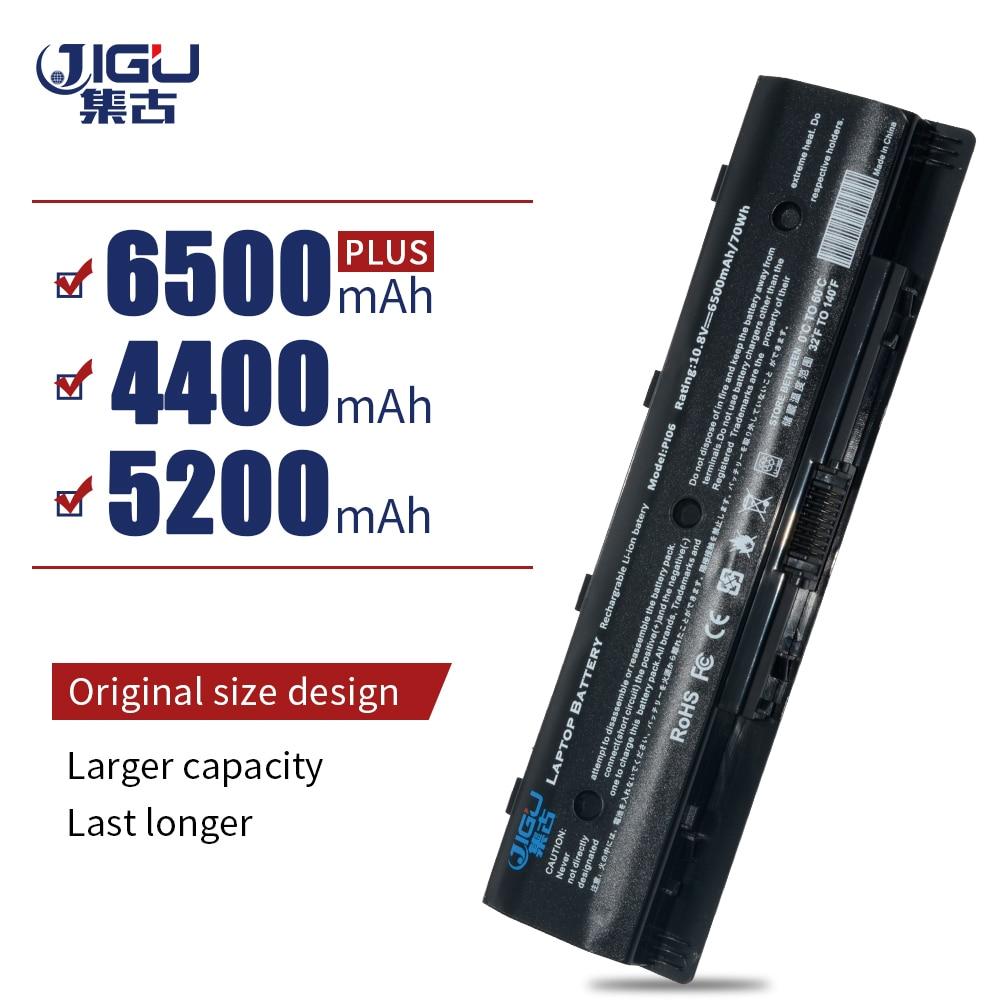 Nuevas baterías JIGU para ordenador portátil HP Pavilion14 Pavilion 15 baterías PI06 HSTNN-UB4N 710416-001