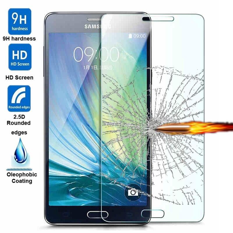 GerTong 2.5D 9 H Vidro Temperado Para Samsung Galaxy A3 A5 J5 J7 J1 Mini 2016 S5 S5 S6 Grande Prime Neo Protetor de Tela de Vidro filme
