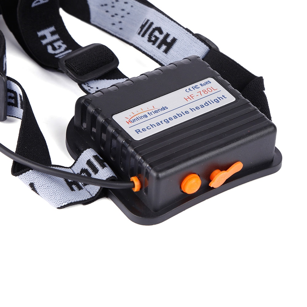 12pcs/lot Hunting friends Separation Style LED Headlamp Rechargeable Flashlight Forehead Waterproof Headlight Hunting Lights enlarge
