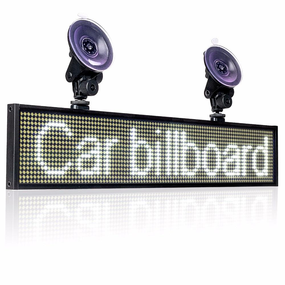 82 سنتيمتر نافذة P5mm مصلحة الارصاد الجوية LED تسجيل ، 12 فولت سيارة المتداول الإعلان رسالة مجلس شاشة عرض داخلية دعم الهاتف واي فاي المدخلات
