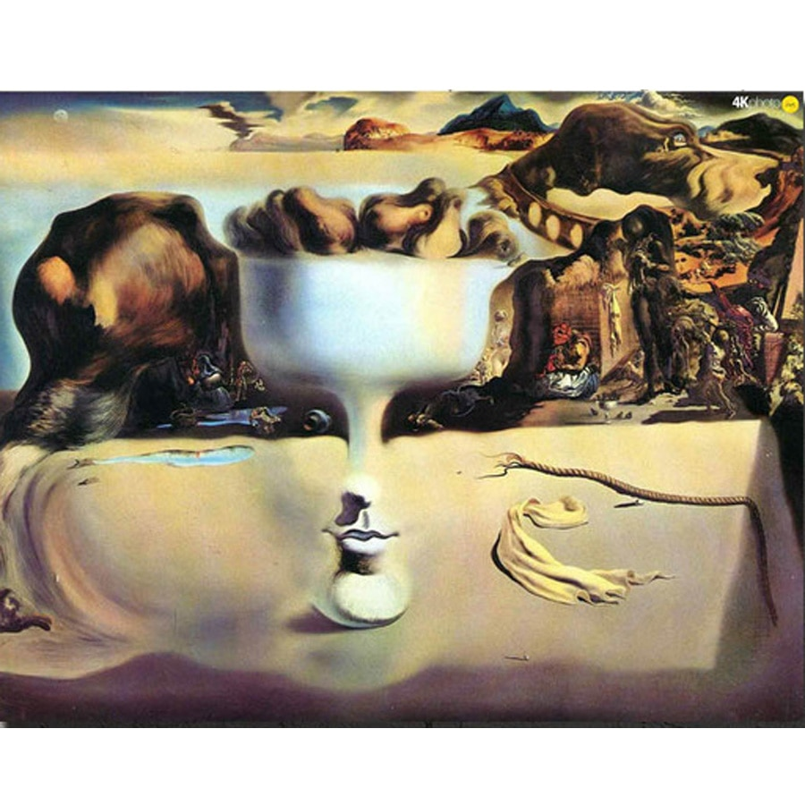 Алмазная вышивка Salvador Dali 5D, алмазная вышивка полностью, алмазная картина, абстрактные картины, вышивка крестом, стразы, мозаика, домашний де...
