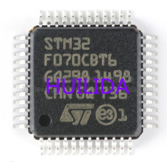 3 шт./лот STM32F070CBT6 ST LQFP48 100% Новинка origina