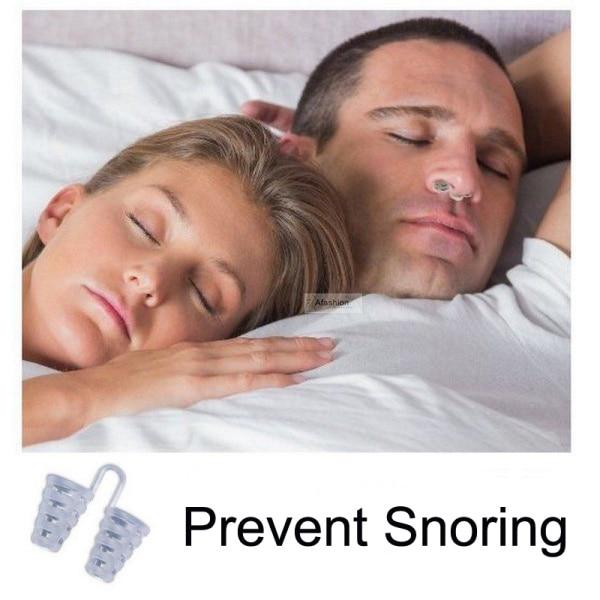 1pc la nariz anulador de ronquidos evitar pinza para ronquido guardia para solución de dispositivo de ventilación para facilitar la respiración dormir nariz importa