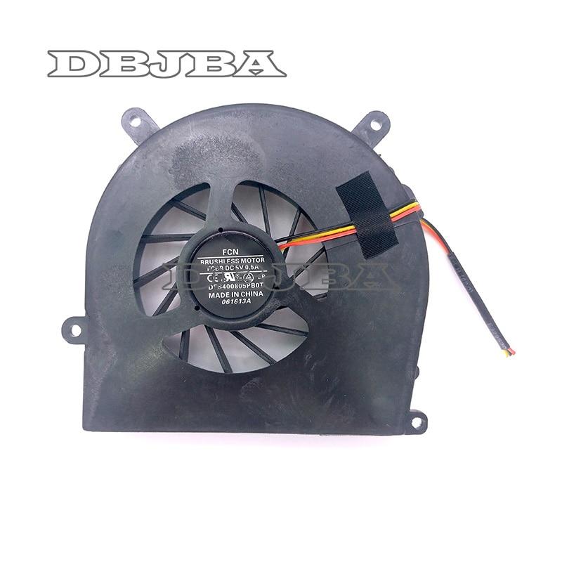 Original Laptop GPU Fan For Terrans Force X511 X611 X711 X811 Clevo P150 P170 P570 P370 Graphics A-POWER 6-31-X720S-101 Fan