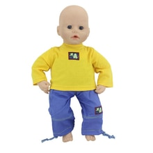 Good Leisure Set Doll Clothes Wear fit for 46cm/18nch baby doll, Children best Birthday Gift(only se