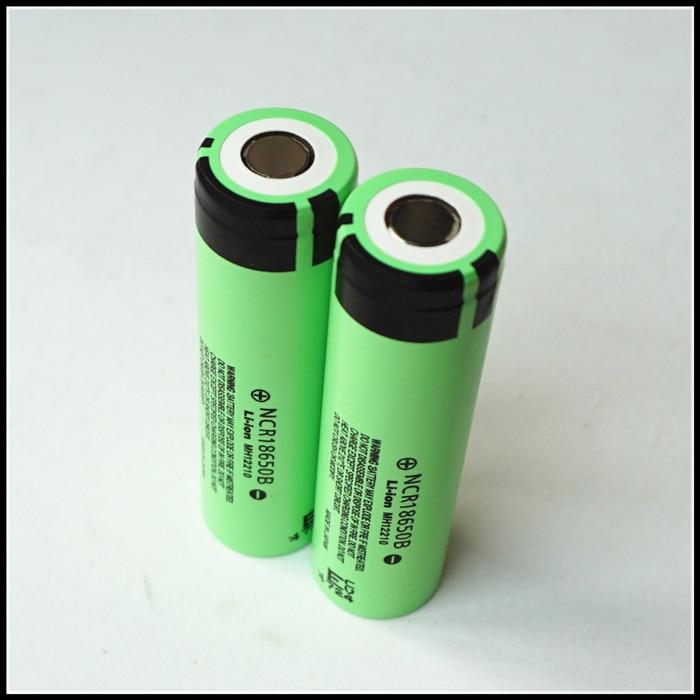 For Panasonic NCR 18650 B NCR18650B 3400mAh Dynamic Lithium Li-ion MH12210 Rechargeable Battery Cell