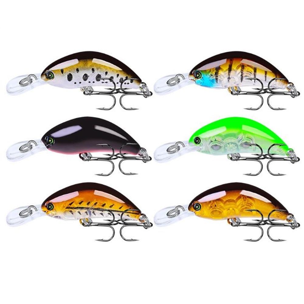 1pcs High Quality Crankbait Fishing Lure 55mm 4g Topwater Artificial Japan Hard Bait Minnow Swimbait Trout Bass Carp Fishing