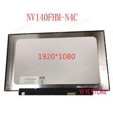 14 дюймовый ноутбук ЖК светодиодный Экран 1920*1080 30 PIN ips NV140FHM-N4C NV140FHM N4C