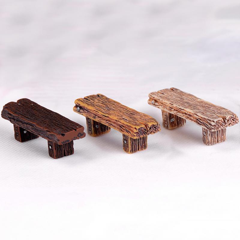 Casa de muñecas de madera miniatura Muebles de Jardín Accesorios