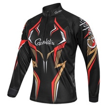 Nueva ropa de pesca Gamakatsu de verano para hombre, de manga larga, para exteriores, senderismo, ciclismo, chaqueta de pesca, camisas de pesca transpirables de secado rápido