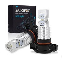 2PCS PSX24W LED H16 Fog Light H8 H11 H10 9145 HB3 9005 HB4 9006 2504 5202 LED Bulbs DRL Auto Lamp 1500LM 6000K White DC12-24V