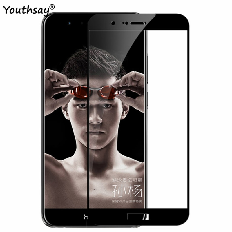 For Huawei Honor 8 Pro Glass Phone Screen Protector Full Cover Tempered Glass For Huawei Honor V9 Gl