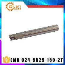 EMR C24 5R25 150 2T Milling Cutter Holder Indexable Shoulder End Mill Arbor Cutting Tools