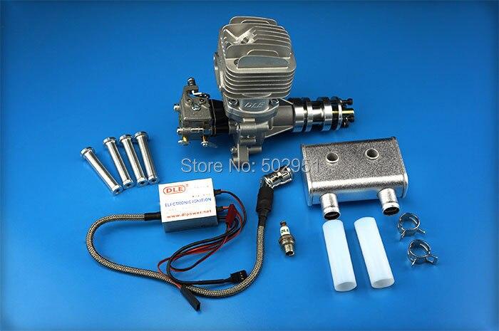 ¡Oferta! Motor de GAS original DLE 35 RA para modelo de avión, DLE35RA,DLE, 35 ,RA,DLE-35RA