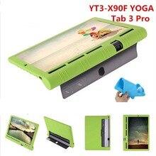 Fashion Shell Ultra Slim Silicon Soft Cover Smart Silicone Case For Lenovo YOGA Tab 3 Pro 10 X90 YT3-X90F/L/M X90F X90L X90M