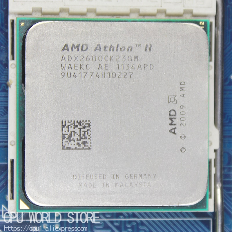 AMD Athlon II X2 260 CPU procesador 3,2 Ghz/ 2M /2000GHz Socket...