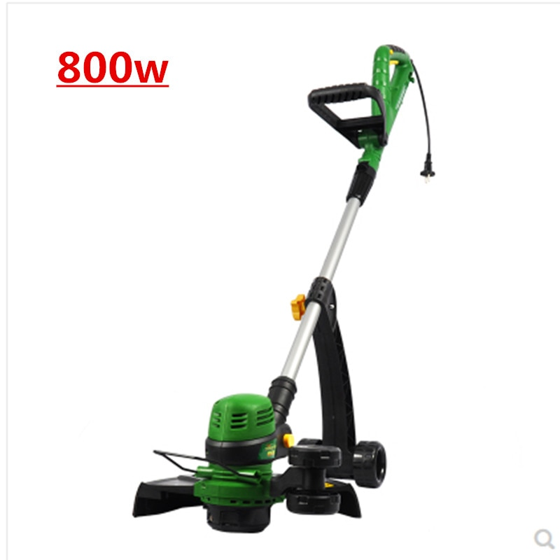 Cortacésped eléctrico de GT-320, cortacésped, cortacésped, 11000rpm, máquina de corte de 840W, herramienta de jardín, 220V