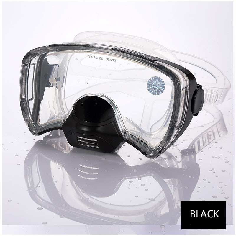 Adults Diving Mask Professional anti fog Scuba Mergulho Underwater Goggles GoPro sea swimming glasses Snorkel Diving Equipment