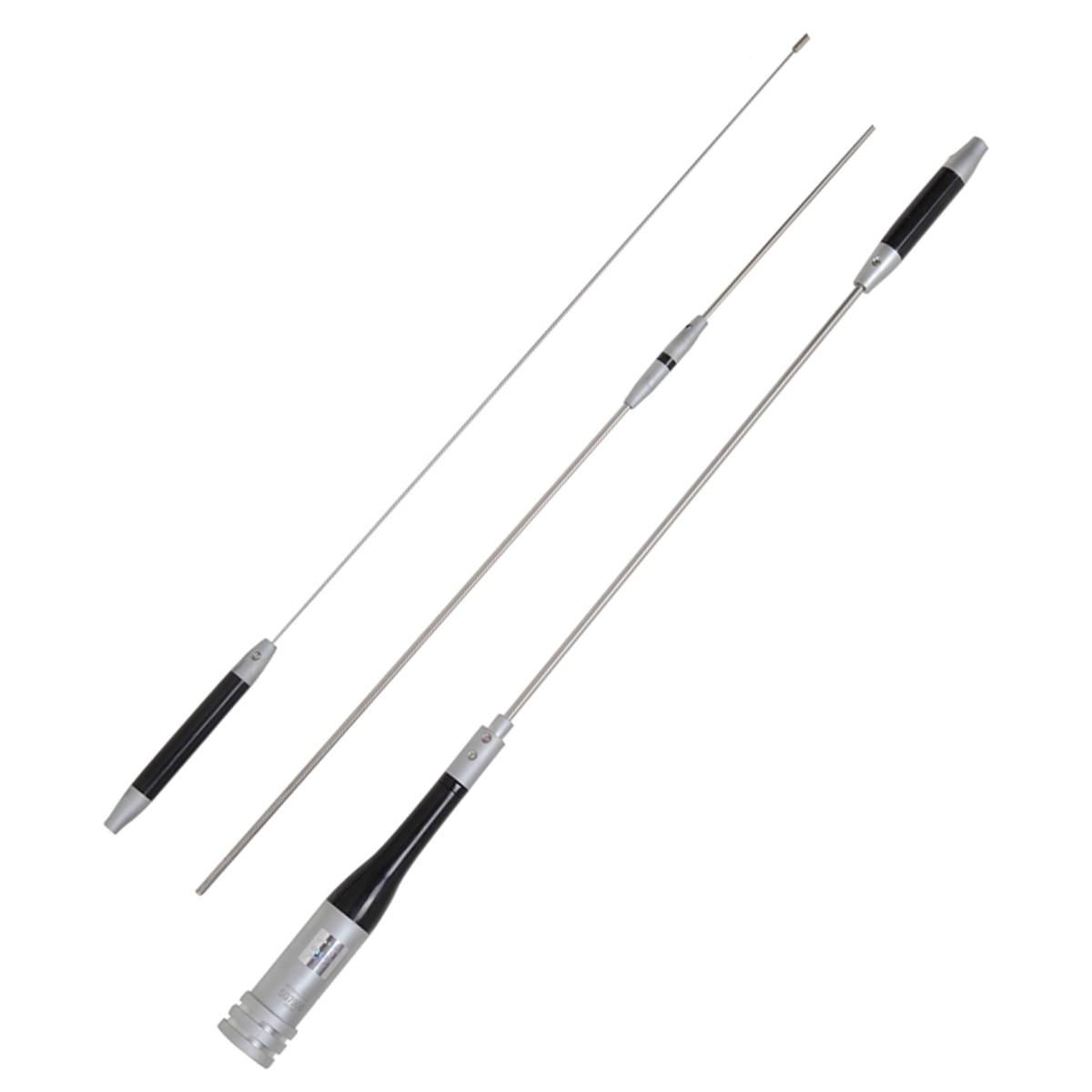 SOONUHA SG 7900 VHF UHF Dual Band Antenna 144MHz 430MHz Durable Stainless Steel 5.0dB 7.6dB High gain Antenna For Mobile Radio