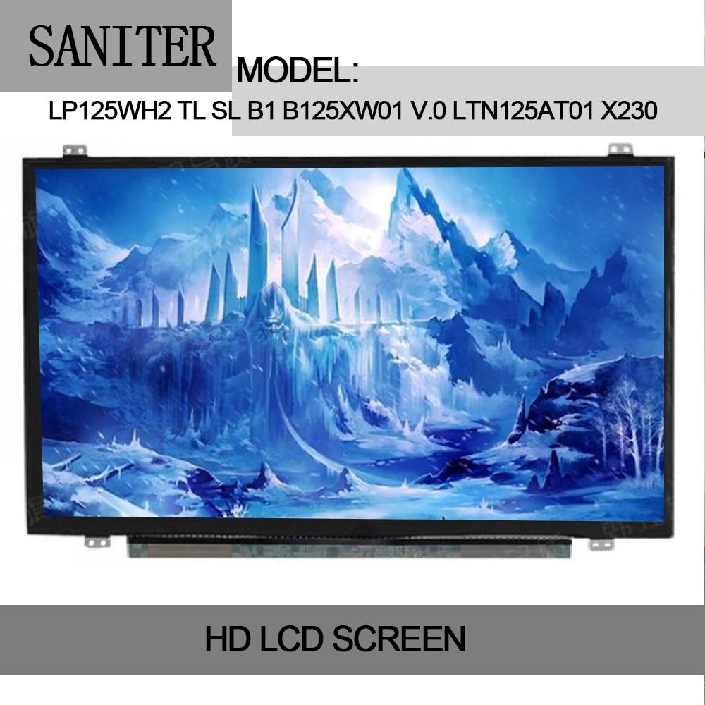 SANITER LP125WH2 TL SL B1 B125XW01 V.0 LTN125AT01 X230 X220 tela LCD