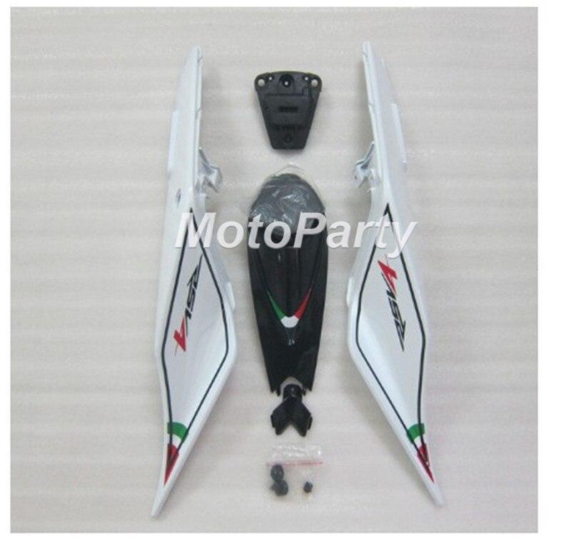 Para Aprilia RSV4 1000 2009-2015 cola trasera de motocicleta Pillion cubierta dura de asiento carenado de parabrisas cubierta para el asiento kit RS4 125 50