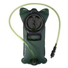 2L 2.5L 3L TPU bicicleta boca deportes agua bolsa vejiga hidratación Camping senderismo escalada militar verde azul agua bolsa