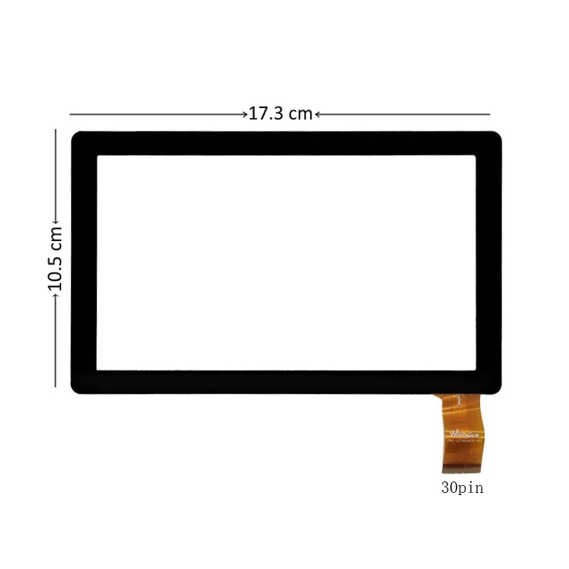 New For Tablet PC iRola DX752 DX758 7'' Digitizer Touch Screen Glass Replacement