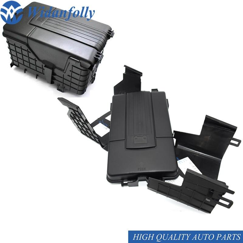 Widanfolly 1 Set Battery Tray Trim Cover For Jetta Golf Touran Tiguan Scirocco Octavia 1KD 915 443 1K0 915 443 A 1K0 915 443 C