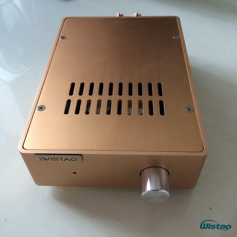 IWISTAO 2x100 w HIFI Amplificador Estéreo Discreto-Componente HDAM Music Box A1 2SC5200/2SA1943 alumínio Whole caixa de artesanato
