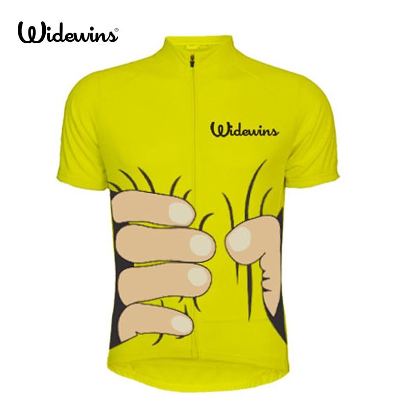 Widewins-Ropa De Ciclismo para Hombre, Maillot, 5568A, 2018