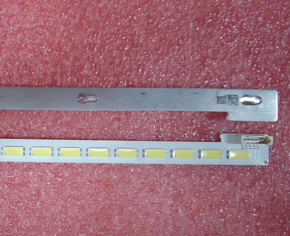 570mm LED Backlight Lamp strip 64 leds For LTA460HQ18 L46V7300A-3D L46E5000-3D 46 inch LCD Monitor High light Free Shipping enlarge