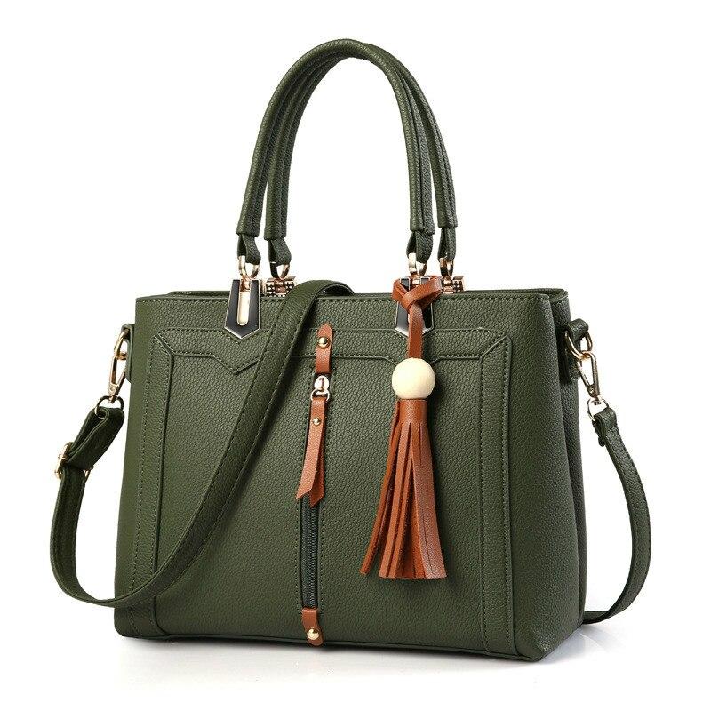 Monnet coauthy feminino sacos conciso vintage senhora do escritório moda meninas bolsas de vinho cor sólida vermelho preto verde cinza escuro totes