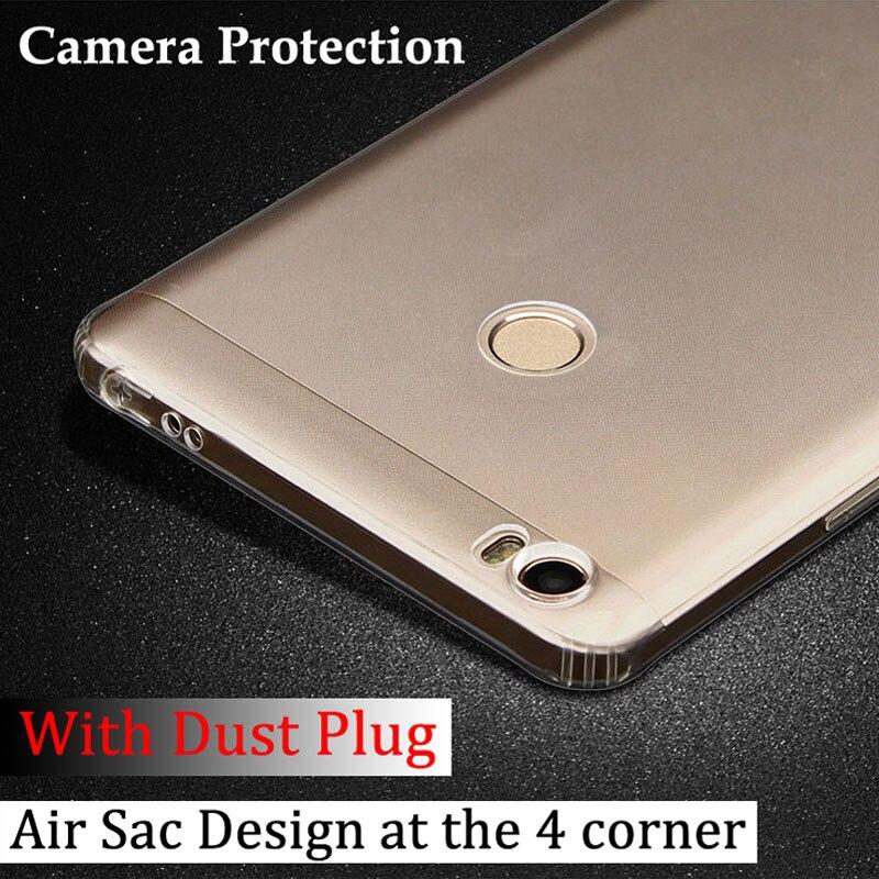 Saco de ar capa Xiao mi mi max capa Crystal Clear Anti Bater projeto top quality macio TPU material frete grátis