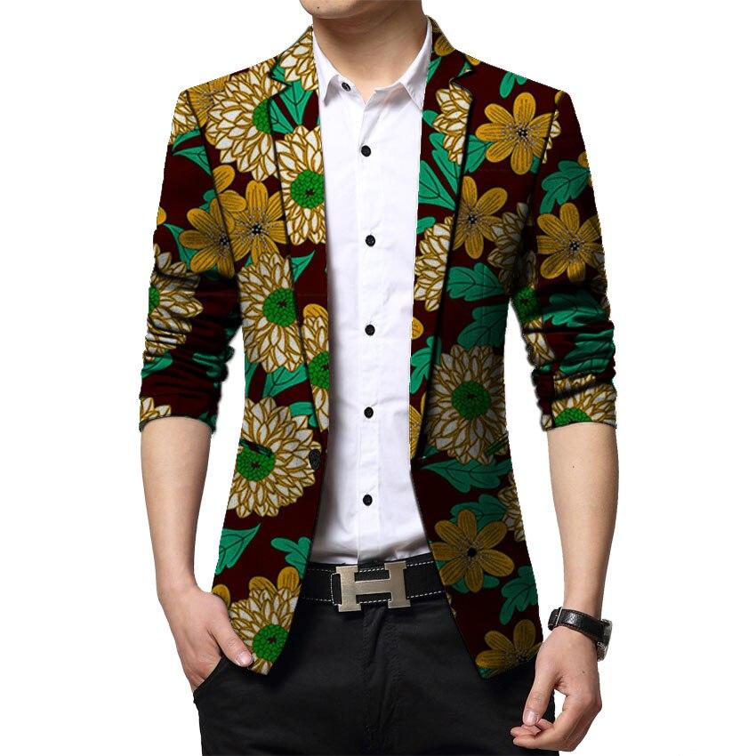 Африканские модные мужские блейзеры, Дашики, костюм с принтом, куртка для вечеринки/свадьбы, индивидуальный пошив, Анкара, наряды