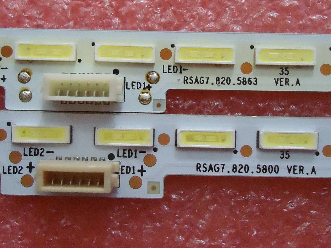 FOR Hisense LED50L288 Article lamp  RSAG7.820.5800 RSAG7.820.5863  screen HE500 1piece=64LED 607MM