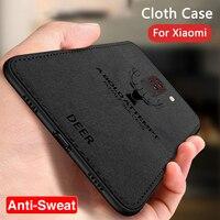 Тканевый чехол с оленем для Xiaomi Mi A3 9T Poco F3 M3 F2 Pro X3 NFC 10T 11 Lite, чехол для Xiomi Redmi Note 10 Pro 9 9C