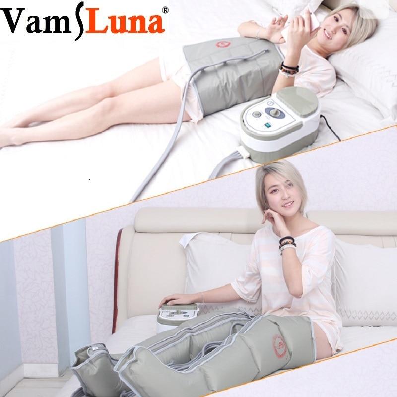 جهاز ضغط الهواء يعمل بالضغط والضغط يعمل بالضغط على الساق والذراع جهاز التصريف اللمفاوي لتمديد العضلات