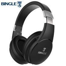 Bingle Fb110 Derin Bas 3D Surround Stereo Kulak Üzerinde BT Kafa Telefonu kablosuz bluetooth Kulaklık mikrofonlu kulaklık 3.5MM Ses