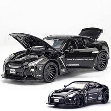 1:32 miniauto diecasts gtr toy car model auto oyuncak toys for children kids race car Sport racing GT-R LV-N148