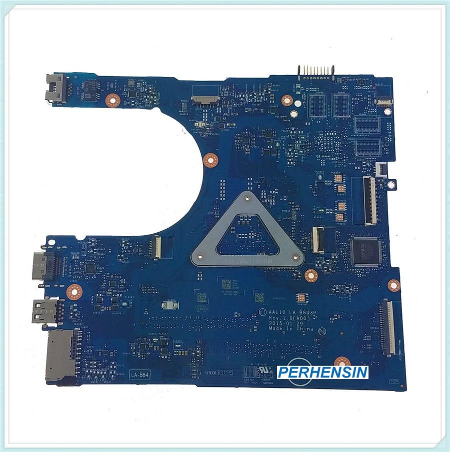 Para Dell para Vostro 14 3458 5458 15 3558 placa base w para Pentium 3805U LA-B843P 100% trabajo perfectamente