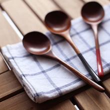 Houten Lepel Bamboe Keuken Koken Gebruiksvoorwerp Tool Soep Theelepel Catering Lepel