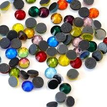Colori misti! DMC HotFix FlatBack Strass Hot Fix ferro-on Indumento di Cristallo Allentati Pietre ss6 ss10 ss16 ss20 ss30 ss34 Y2797