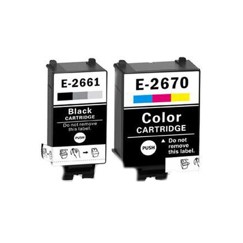 Vilaxh 266xl T266 t2661xl Ink Cartridge T2661 T2670 For Epson WorkForce WF-100W ink printer