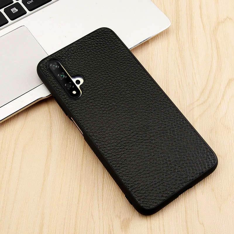 Honor 20 Pro de cuero genuino funda para Huawei Honor 20 Pro caso cubierta que a protector completo para Huawei Honor 20 carcasa