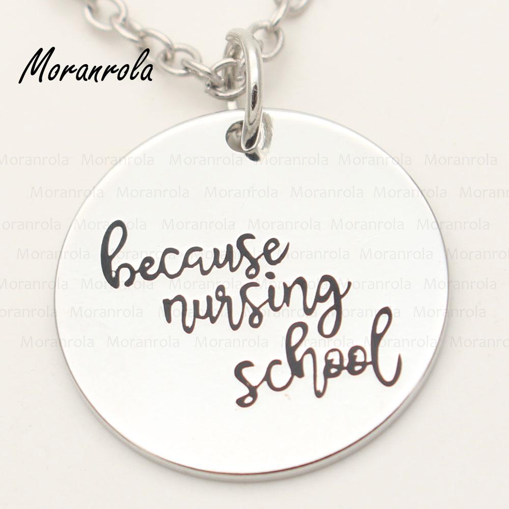 """¡Nuevo! collar de cobre de joyería """"becaur school"""" y llavero para estudiantes de enfermería"""